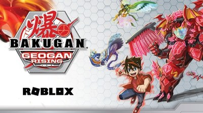 Spin Master's Bakugan® Franchise Enters the Roblox Metaverse (CNW Group/Spin Master)