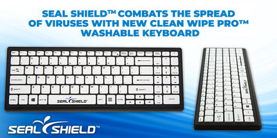 Infection Control Company Combats the Spread of Viruses with New Clean Wipe Pro™ Washable Keyboard