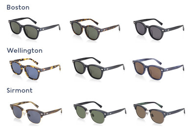 JINS&SUN Classic Collection – Frame Shapes