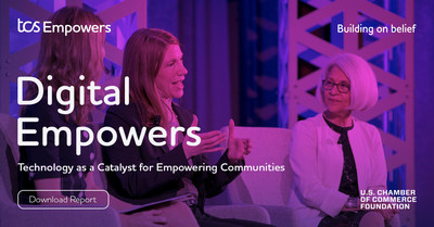 """A new report from Tata Consultancy Services and the U.S. Chamber of Commerce Foundation, titled """"Technology as a Catalyst for Empowering Communities,"""" explores the application of next-generation technologies for social good. The report is available to download for free at on.tcs.com/CatalystReport."""