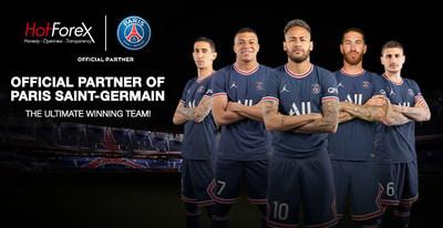 HotForex and Paris Saint-Germain renew partnership for 2021-2022