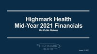Highmark Health reports over $10 billion in revenue and $585...