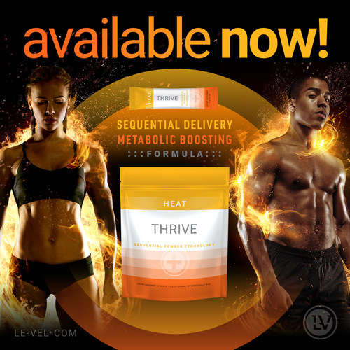 Metabolic-boosting, Heat adds to the company's lineup of Sequential Powder Technology
