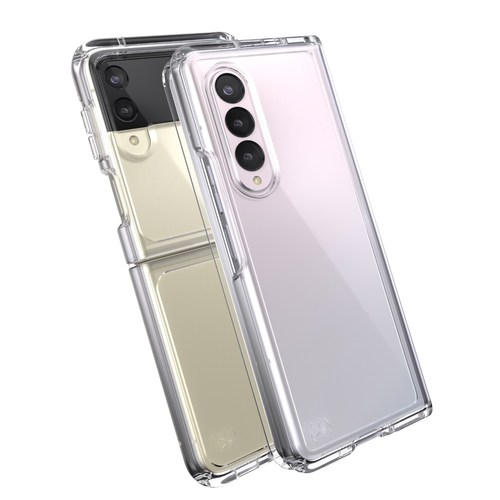 Speck cases for Samsung Galaxy Z Fold3 5G and Galaxy Z Flip3 5G