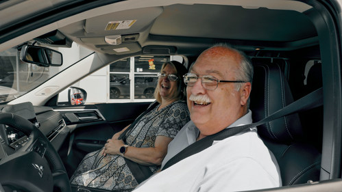 Victor Warmke of Anderson, IN was the grand prize winner of an all-new 2022 Mitsubishi Outlander – the first vehicle ever to debut on Amazon Live.