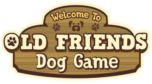 Old Friends Dog Game Logo