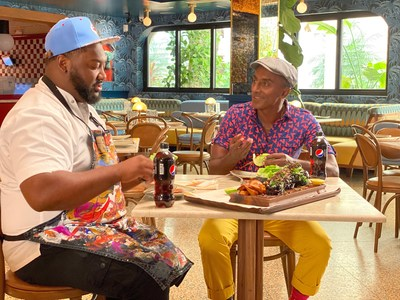 Marcus Samuelsson sits down with Executive Chef Tristen Epps of his restaurant Red Rooster Overtown in Miami, Florida over the restaurant's signature dish, wagyu oxtail.