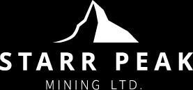 Starr Peak Mining Ltd. Logo (CNW Group/Starr Peak Mining Ltd.)
