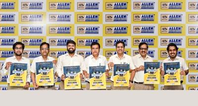 Tallentex 2022 Launch event: Standing from Left to ight Directors of ALLEN Career Institute Mr. Keshav, Mr. Govind, Mr. Anand, Mr. Rajesh, Mr. Brajesh, Mr. Naveen & Mr. Aviral