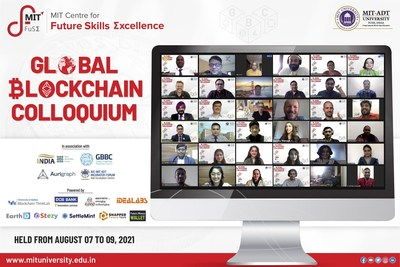 Global Blockchain Colloquium 2021 organized by MIT Centre for Future Skills Excellence
