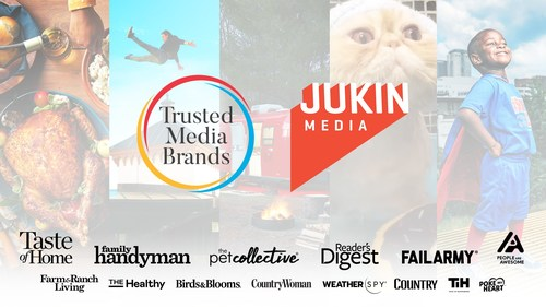 Trusted Media Brands has acquired Jukin Media, fueling growth across the expanded company's combined portfolio.