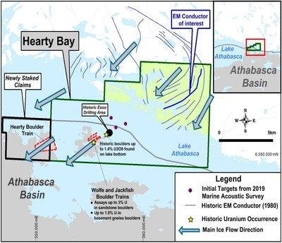 Fission 3.0 Expands its Hearty Bay Project and Commenced an Airborne Geophysical Survey (CNW Group/Fission 3.0 Corp.)