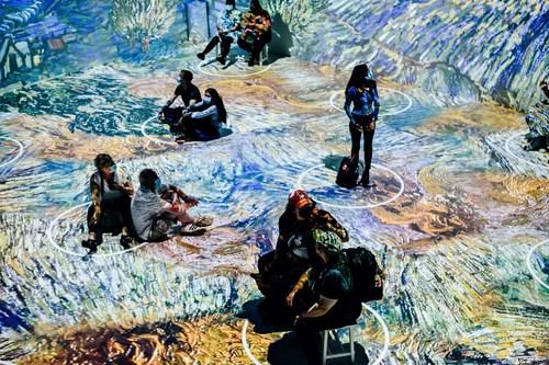 Immersive Van Gogh - Photo credit Nina Westervelt