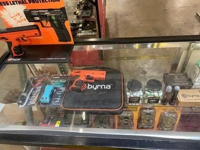 Byrna HD display at a Bi-Mart store