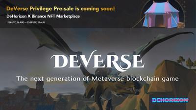 DeVerse: a blockchain-based MMO/RPG Metaverse game