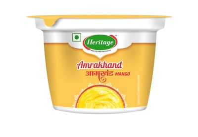 Heritage Amrakhand: Prepared with High Quality Mango Pulp