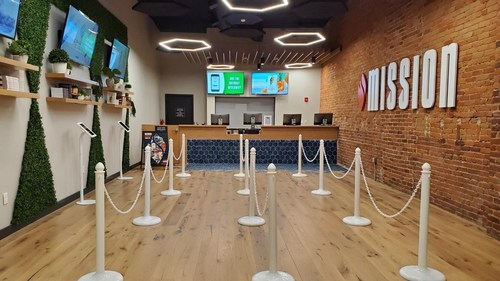 4Front will open its third dispensary in the commonwealth, Mission Brookline, to serve adults 21 years and older in the Allston Innovation Corridor, a vibrant community within the wider Boston University and Boston metropolitan area. (CNW Group/4Front)