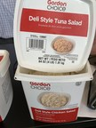 RMH Foods, LLC Issues Allergy Alert on Undeclared Wheat and Tuna in Gordon Choice® Deli Style Tuna and Chicken Salads
