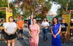 Inauguration du Marché public asiatique de Montréal dans le Quartier chinois