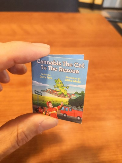 Jerry Frye - Cannabis The Cat
