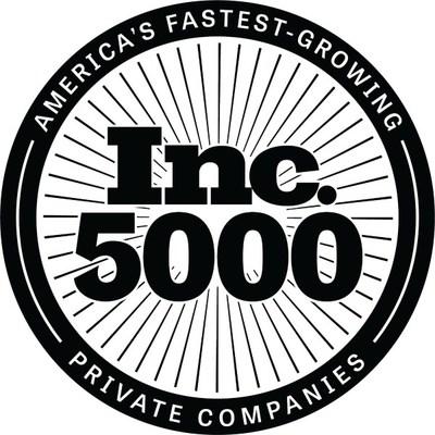 Inc. 5000 Black Stacked Medallion Logo