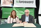 Décès d'Alphonse Lepage, maire de Brossard de 1978 à 1982 - Mise en berne des drapeaux à l'hôtel de ville de Brossard