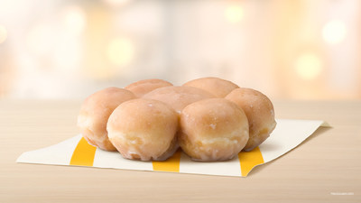 McDonald's USA Adds New Glazed Pull Apart Donut to the McCafé Bakery Lineup