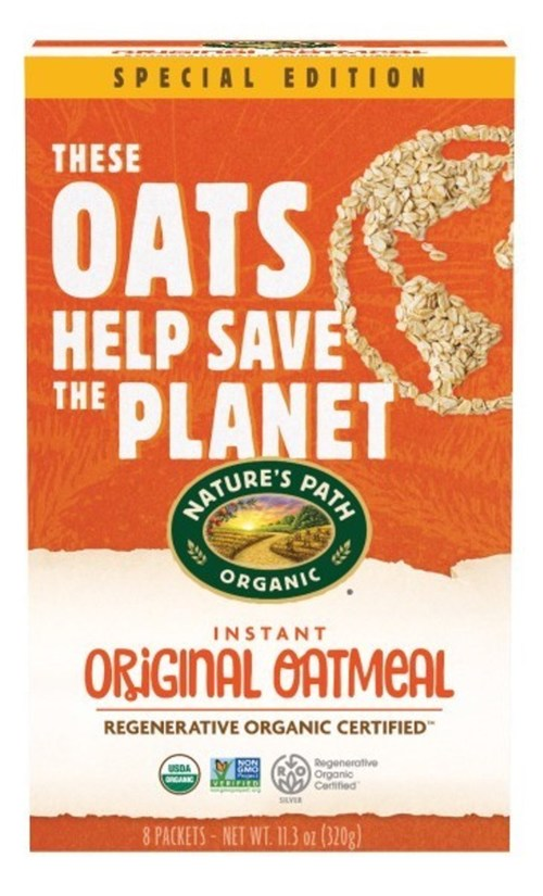Nature's Path Releases Its Second Generation of Limited Edition Regenerative Organic Certified (ROC) Oatmeal