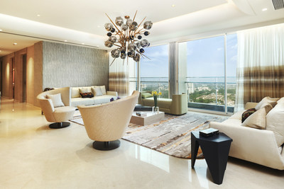 Luxurious living room at Monte South