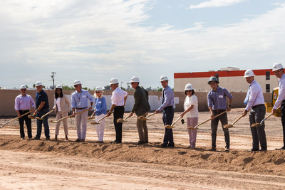 Ground breaking at Mesquite Terrace.