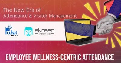 Pocket HRMS teams up with Skreen Kiosk