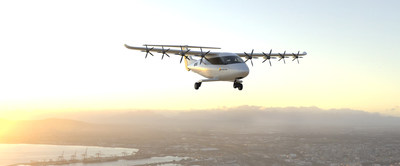"""Electra's first commercial product is designed to carry up to seven passengers and a pilot as far as 500 miles. It will serve urban and regional air mobility markets, sustainability-focused airline operations, """"middle mile"""" cargo logistics, and air ambulance services."""