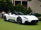 Maserati MC20 Dazzles on Pebble Beach Concept Lawn as Monterey...