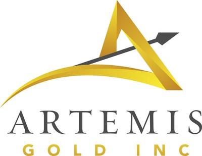 Artemis Gold Inc. Logo (CNW Group/Artemis Gold Inc.)