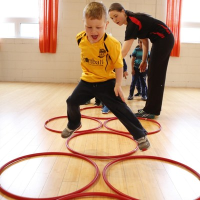 Sportball class for kids from 2 y.o to 12 y.o (CNW Group/Décathlon Canada Inc.)