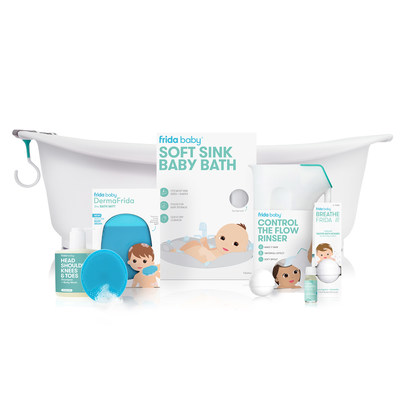 Frida Baby Launches New Bath Line - Designed with Parents in Mind