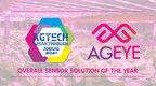 AgEye Earns 'Overall Sensor Solution of the Year' Award in 2021...