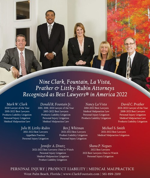 Clark, Fountain, La Vista, Prather & Littky-Rubin is pleased to announce that each of its six partners and three associates has been recognized by their peers for inclusion in the 2022 Edition of Best Lawyers® in America.