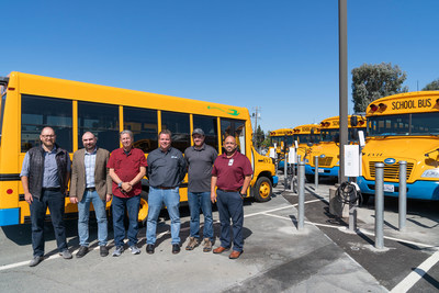 Representatives from Nuvve, Mt. Diablo Unified, VPI, and RC Electric