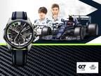 Casio to Release New EDIFICE Watches Incorporating 6K Carbon Fiber in Collaboration with Scuderia AlphaTauri