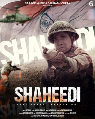 'Beehad Ka Baghi' actor, Dilip Arya stars in the music video, Shaheedi - a tribute to the martyrdom of the Indian defence forces.