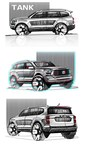 New TANK SUV Model Equipped with 3.0T+ 9AT Super Power