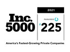 Paradox Debuts at No. 225 on 2021 Inc. 5000 List of America's Fastest-Growing Private Companies