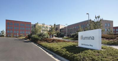 Illumina, Inc. headquarters in San Diego, CA