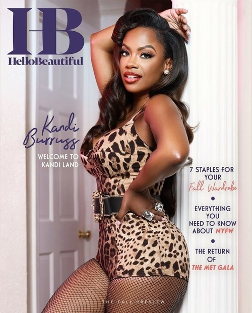 Multi-Faceted Businesswoman Kandi Burruss Covers HelloBeautiful's Digital Cover; Photo Credit: Sterling Pics