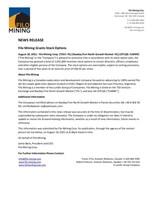 Filo Mining Grants Stock Options (CNW Group/Filo Mining Corp.)