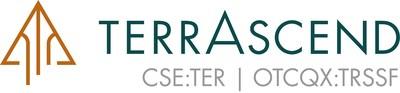 TerrAscend Logo w Tickers (CNW Group/TerrAscend)