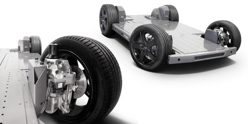 REEcorner technology and fully flat EV platform