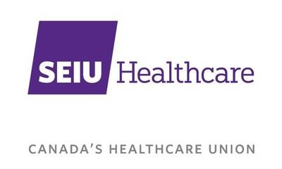 Canada's Healthcare Union Logo (CNW Group/SEIU Healthcare)