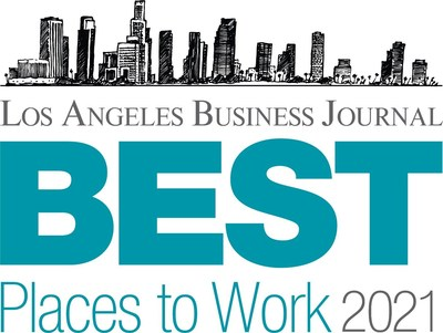 DBS Bank Ltd. named one of the 2021 Best Places to Work in Los Angeles!